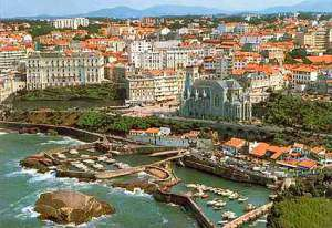 Bordeaux biarritz pau circuit train de 16 jours en - Biarritz to st jean pied de port transport ...